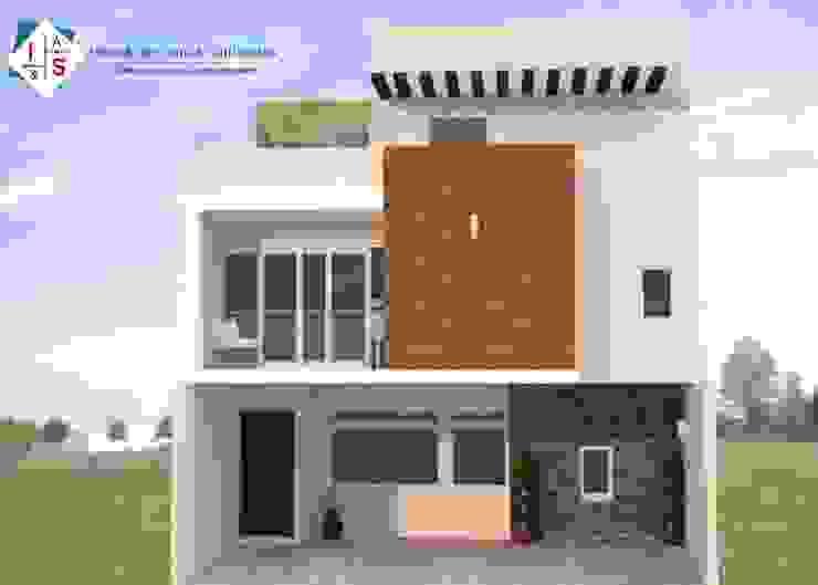 Casa AFIS Casas modernas de Estudio 289 Moderno