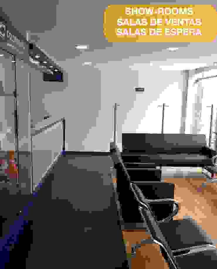 Arquitectura y desarrollo de oficinas Bogota de Arquitectura Modular Residencial Comercial Interiorismo Ecléctico Aluminio/Cinc