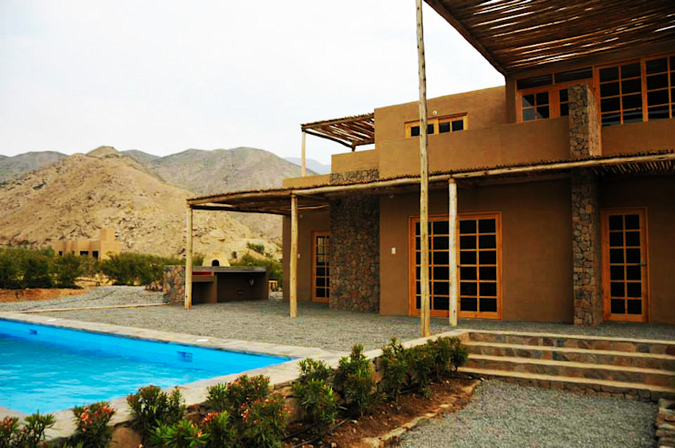[Casa Zarigüeya]: Casas de estilo  por DAS MAB