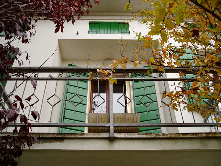 Contesini Studio & Bottega Patios & Decks Wood Green
