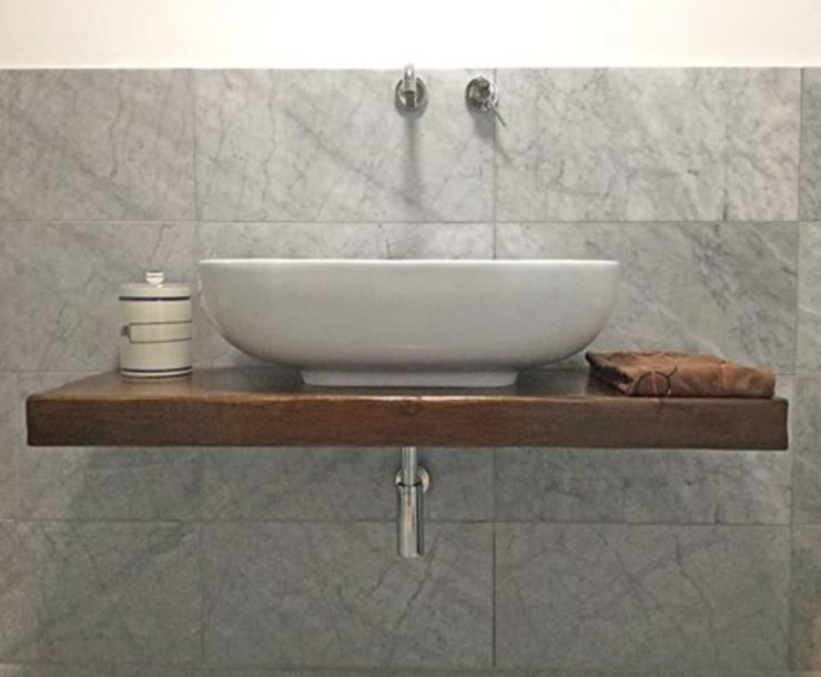 Contesini Studio & Bottega BathroomSinks Parket Wood effect