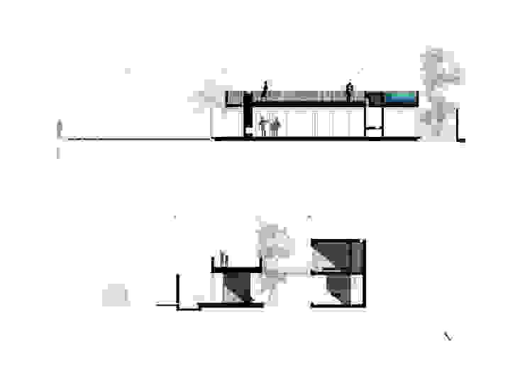 di NIKOLAS BRICEÑO arquitecto Moderno