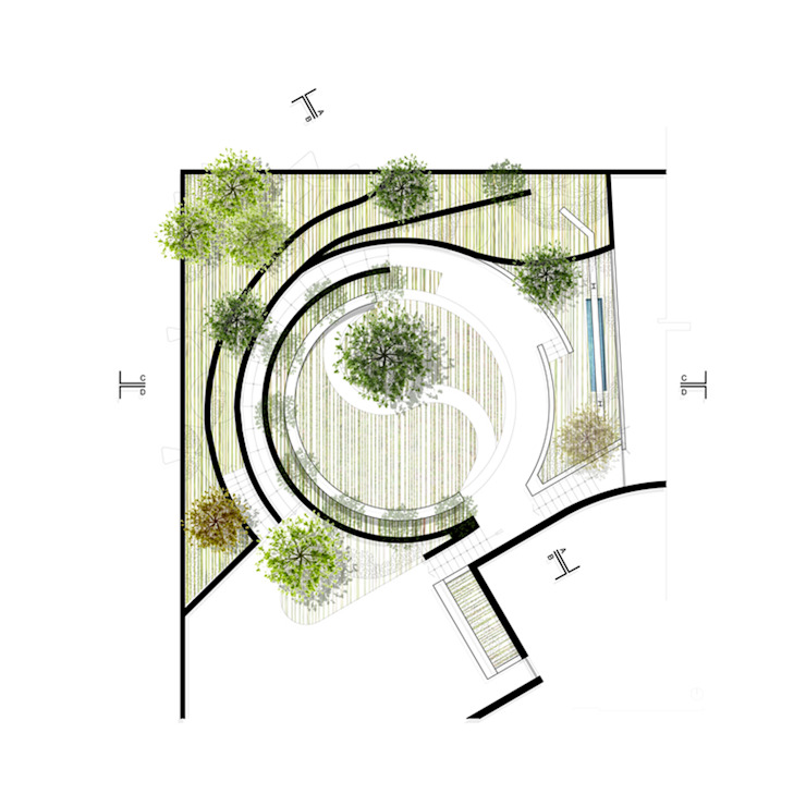 NIKOLAS BRICEÑO arquitecto: modern tarz , Modern