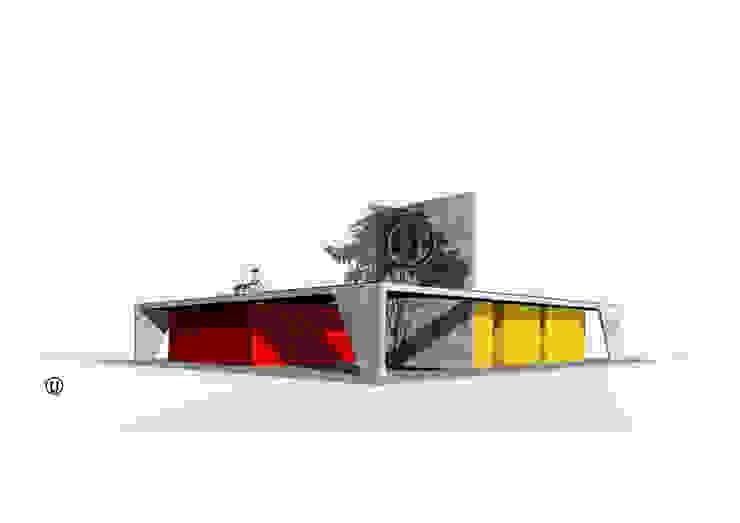 Vista Frontal de NIKOLAS BRICEÑO arquitecto Moderno