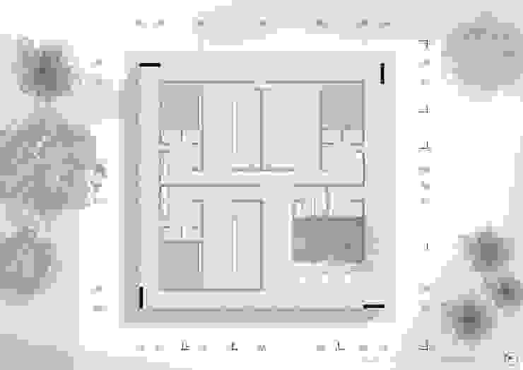Planta Base de NIKOLAS BRICEÑO arquitecto Moderno