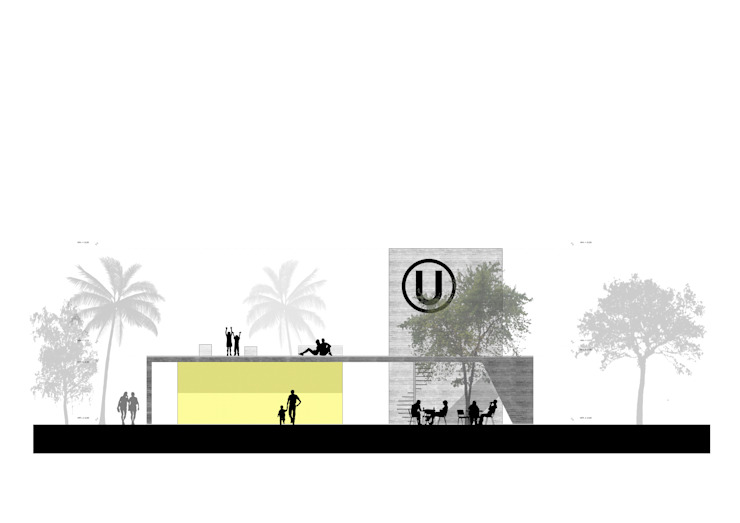 Elevacion de NIKOLAS BRICEÑO arquitecto Moderno