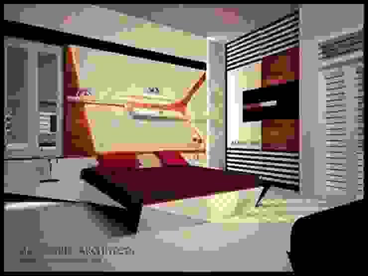 Mr.Ajith Residence Modern style bedroom by MAPLE TREE Modern