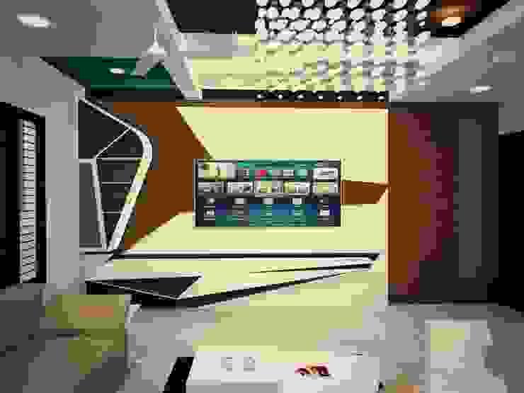 TV UNIT Modern living room by MAPLE TREE Modern