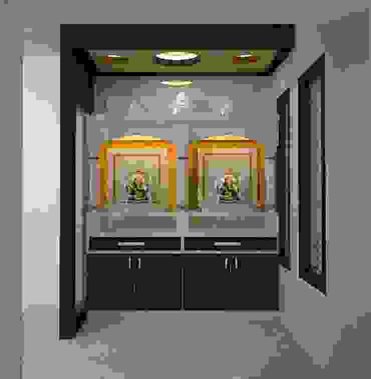 Mr.Ajith Residence Modern balcony, veranda & terrace by MAPLE TREE Modern