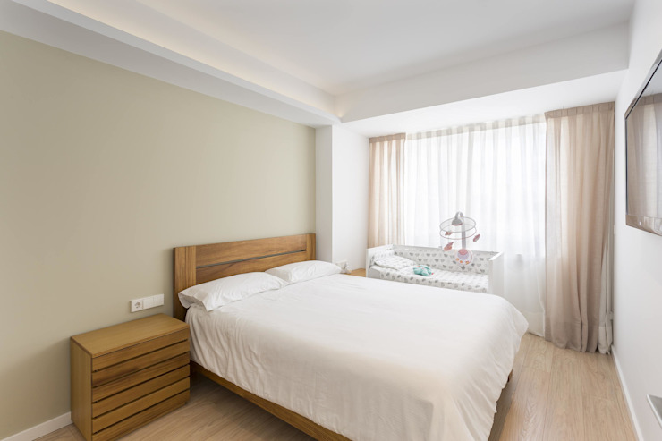 GESTION INTEGRAL DE PROYECTOS DEL NOROESTE S.L. Modern style bedroom