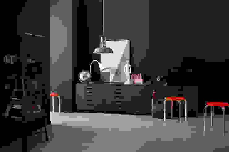 SCHÖNER WOHNEN-FARBE Modern walls & floors Grey