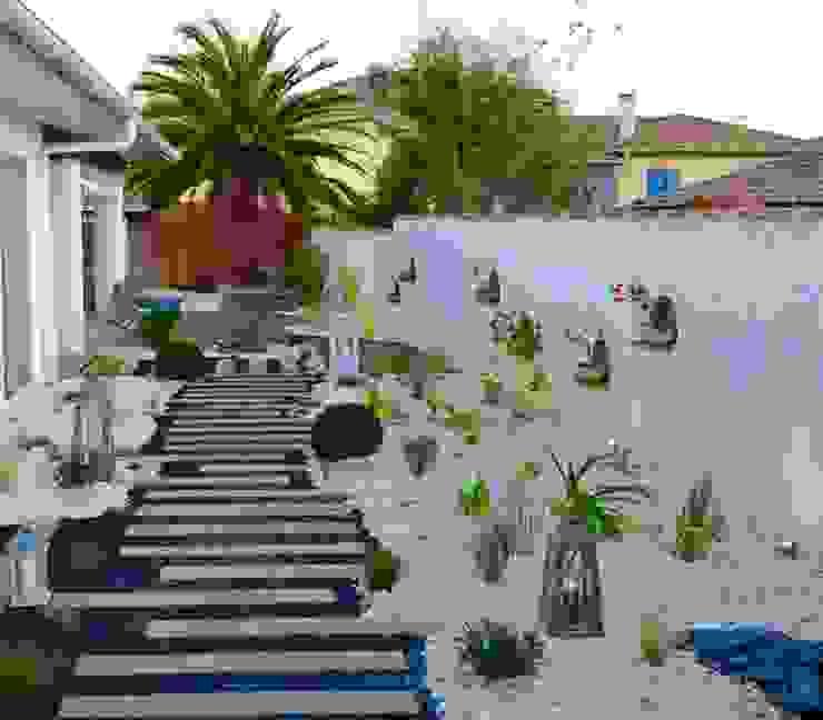 Jardines de estilo  por PATXI CASTRO, Ecléctico