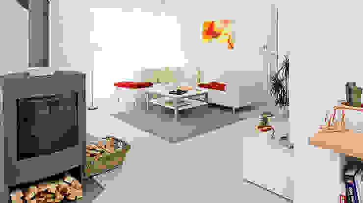 Moderne woonkamers van homify Modern