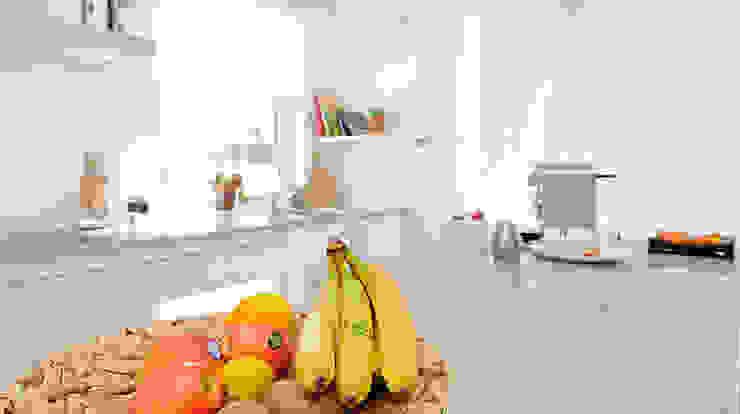 Moderne keukens van homify Modern Graniet
