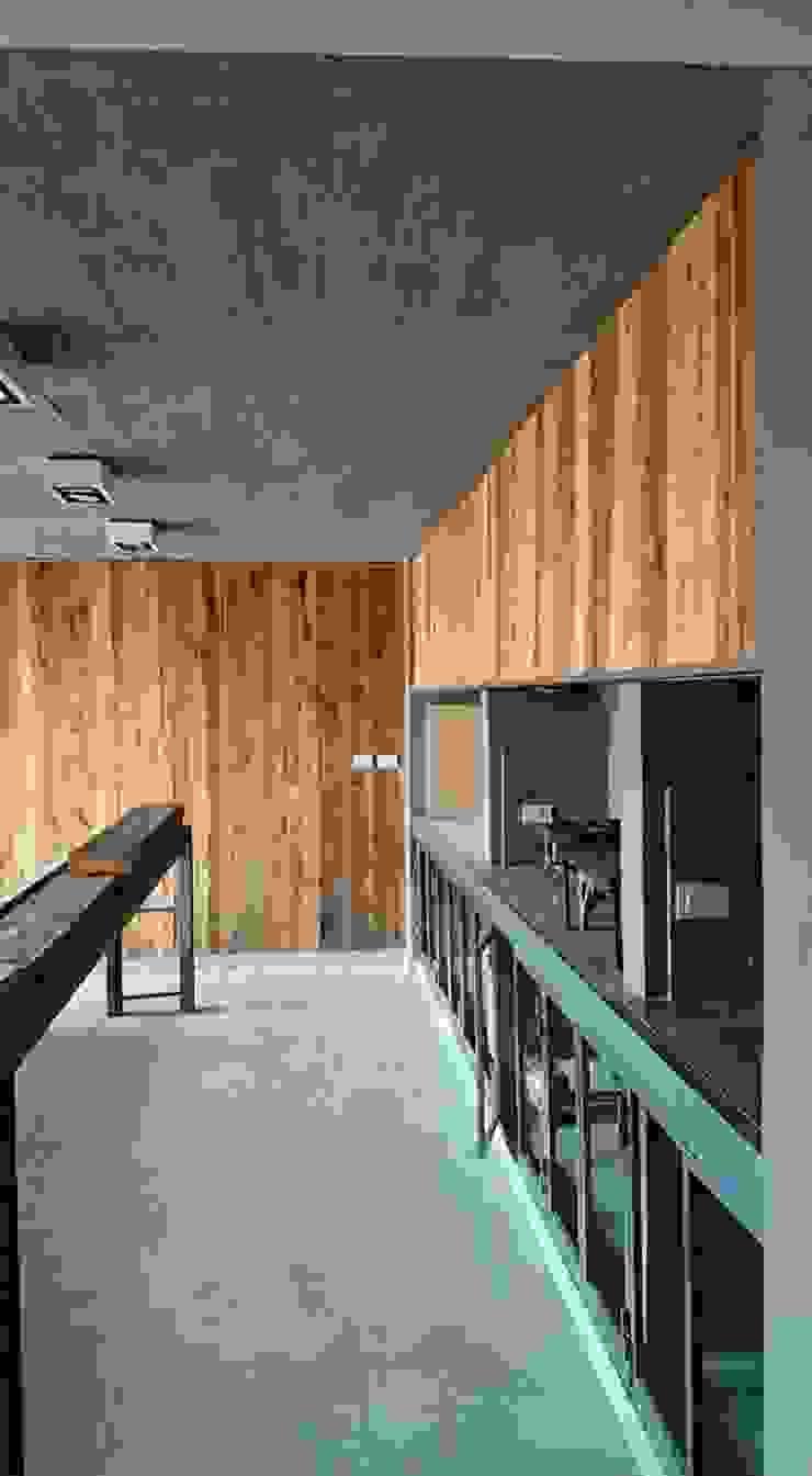 Casa Jardín Comedores modernos de Lucas Rubio Arquitecto Moderno