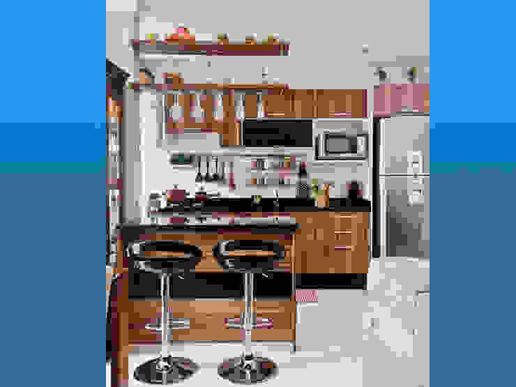 Cocinas de estilo  por Magasal interiorismo, Moderno