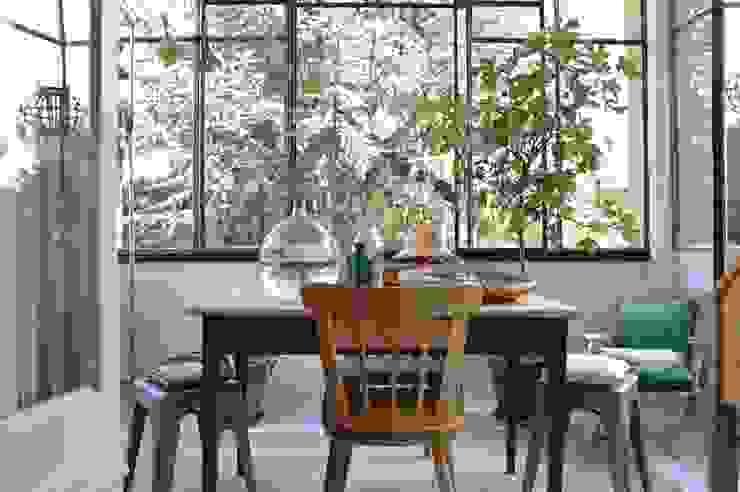C'est du beau Balconies, verandas & terraces Furniture Solid Wood Turquoise