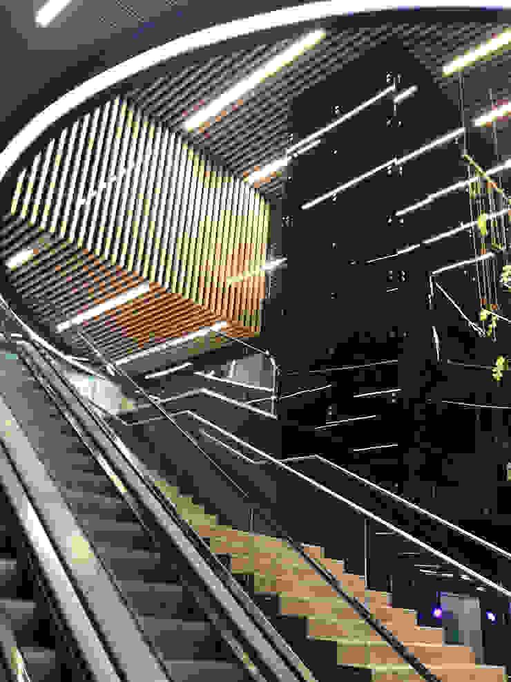 супермаркет Табрис Офисы и магазины в стиле минимализм от meandr.pro Минимализм Стекло