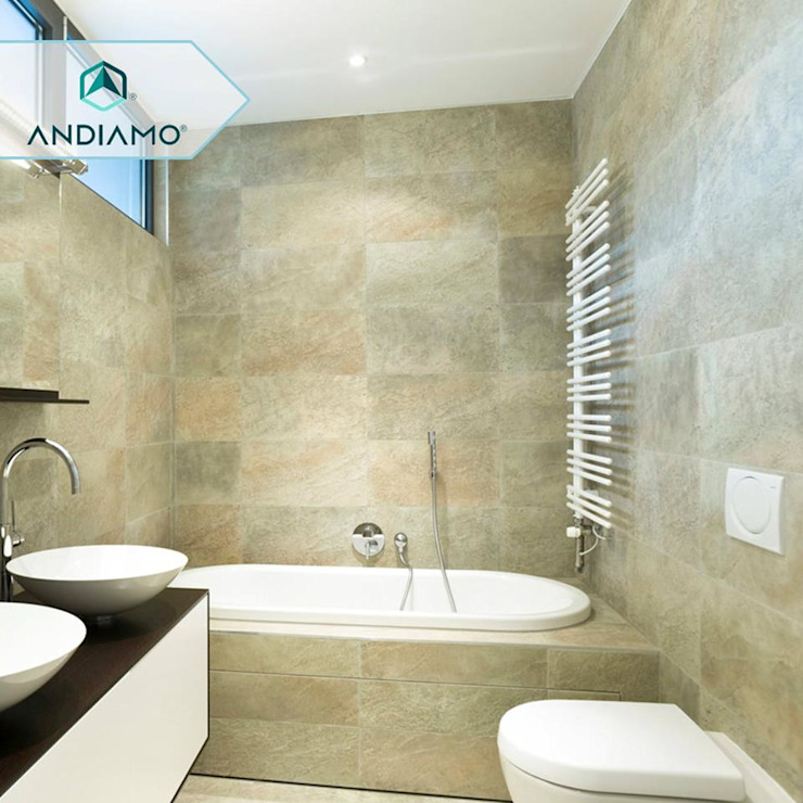 Modern style bathrooms by ANDIAMO (INVERSORA L&R) Modern