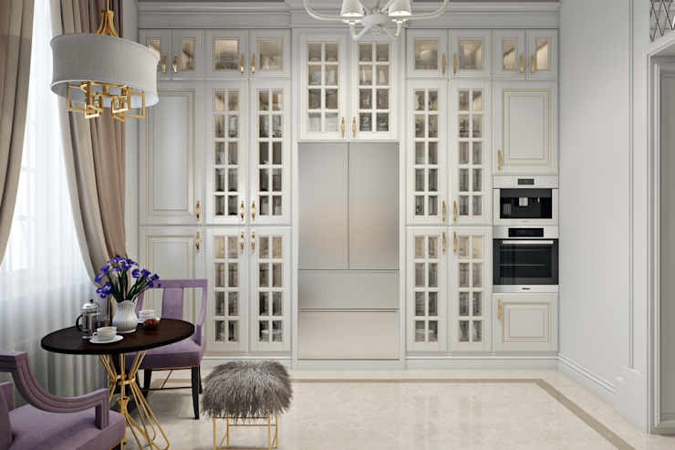 Cocinas de estilo clásico de Александра Клямурис Clásico