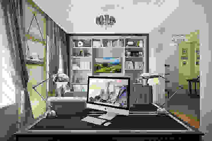 Кашино Рабочий кабинет в классическом стиле от Александра Клямурис Классический