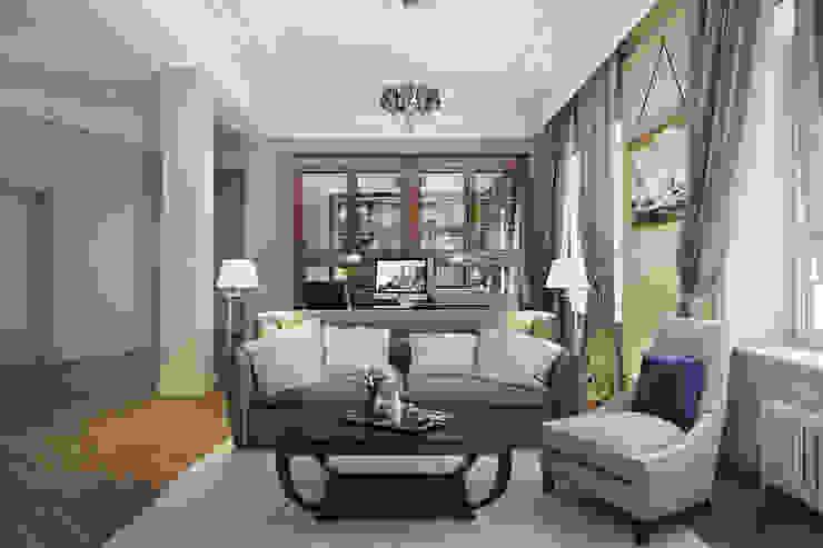 Oficinas de estilo clásico de Александра Клямурис Clásico