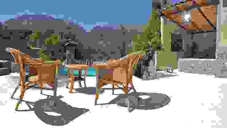 Terrazas  de estilo  por Loft estudio C.A., Mediterráneo