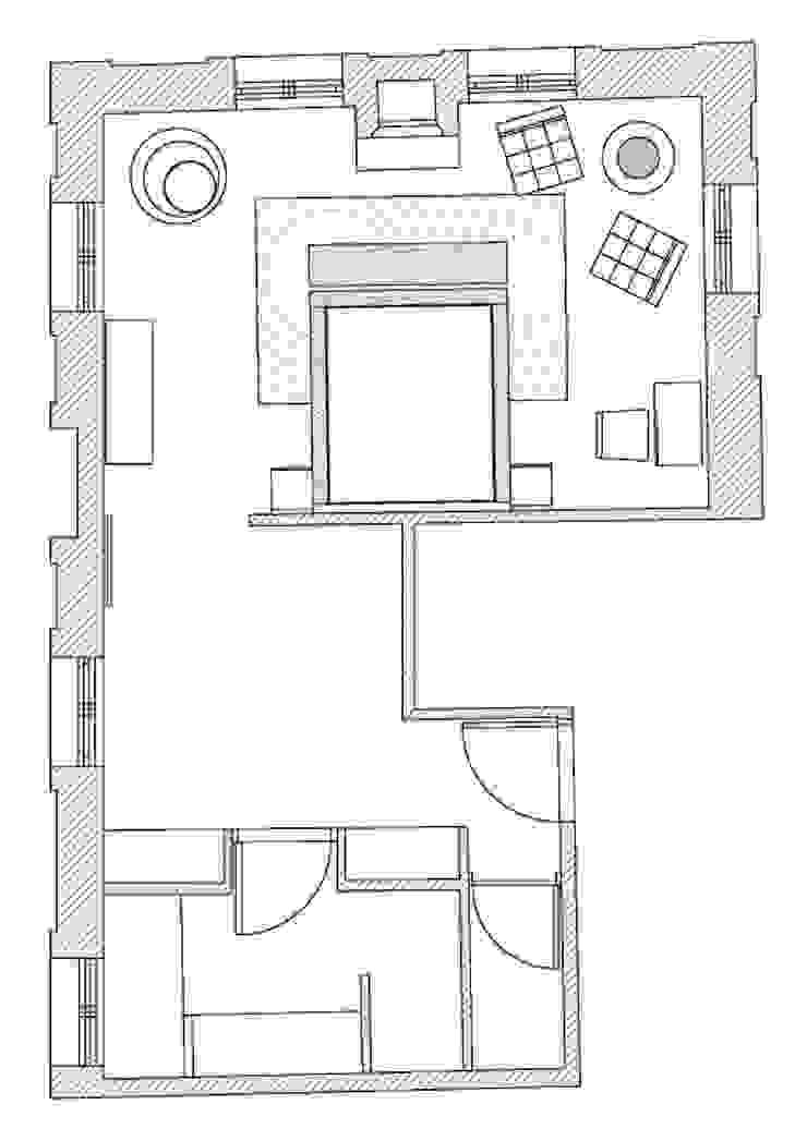 Le Château La Chèze por Laskasas Moderno