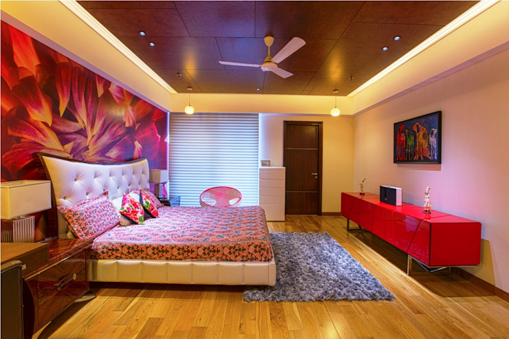 Magnolias Apartment Modern style bedroom by eSpaces Architects Modern