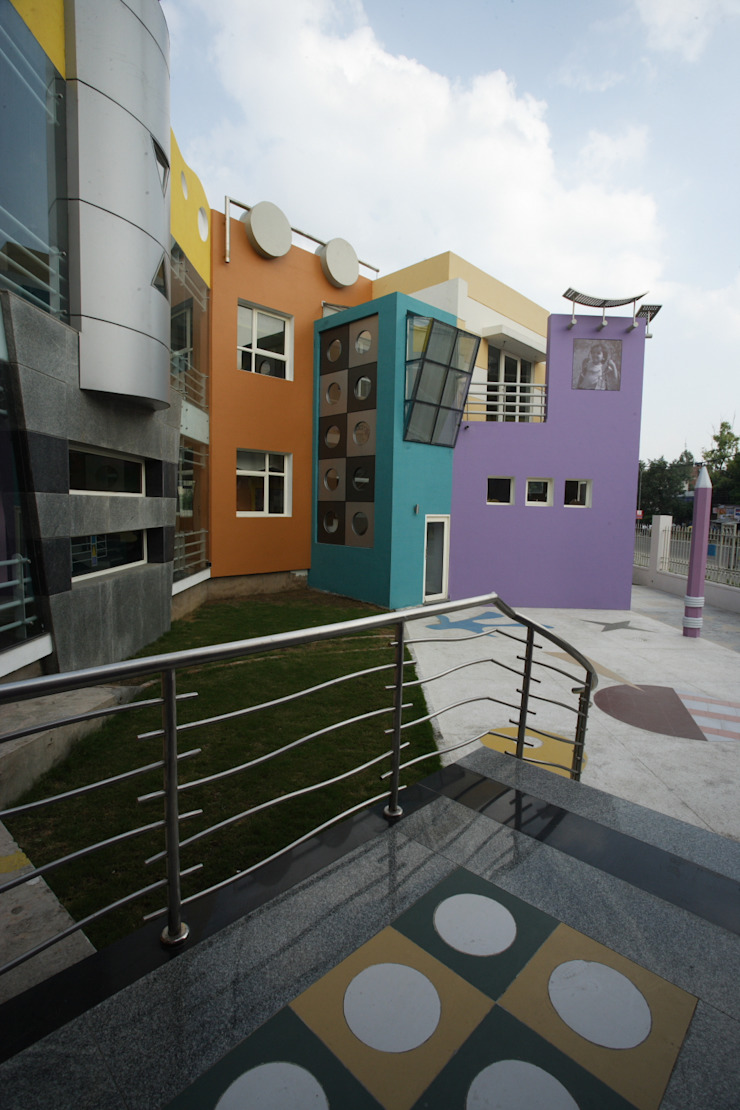 Kindergarten School Modern schools by eSpaces Architects Modern