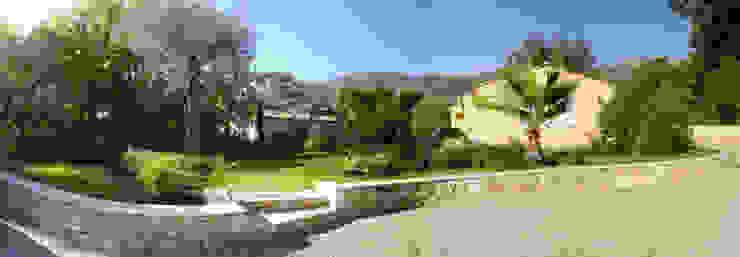 Exemples de réalisations Jardin méditerranéen par Audrey Bloch Méditerranéen
