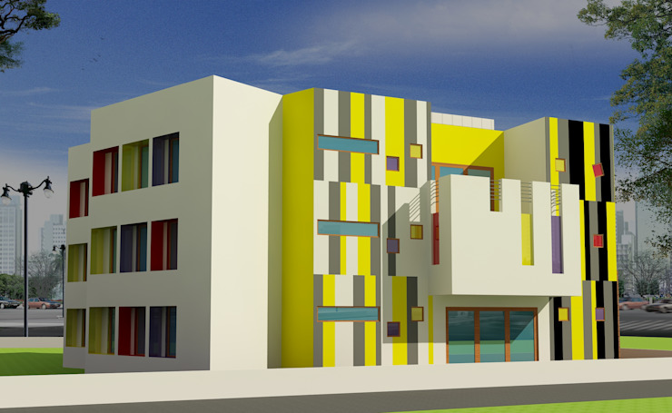 Forthcoming kindergarten school Modern schools by eSpaces Architects Modern