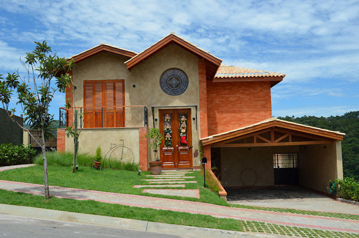 Projeto Modern houses by info9113 Modern