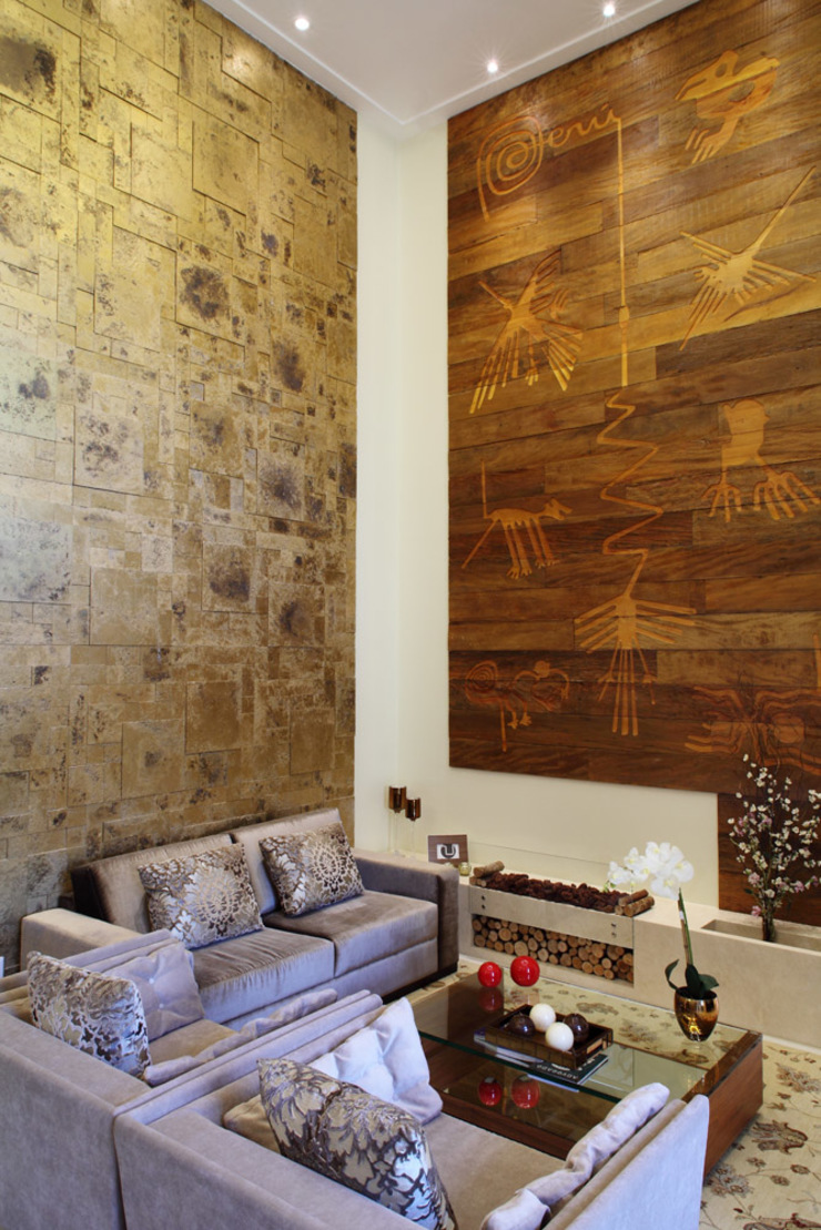Projeto Modern Living Room by info9113 Modern