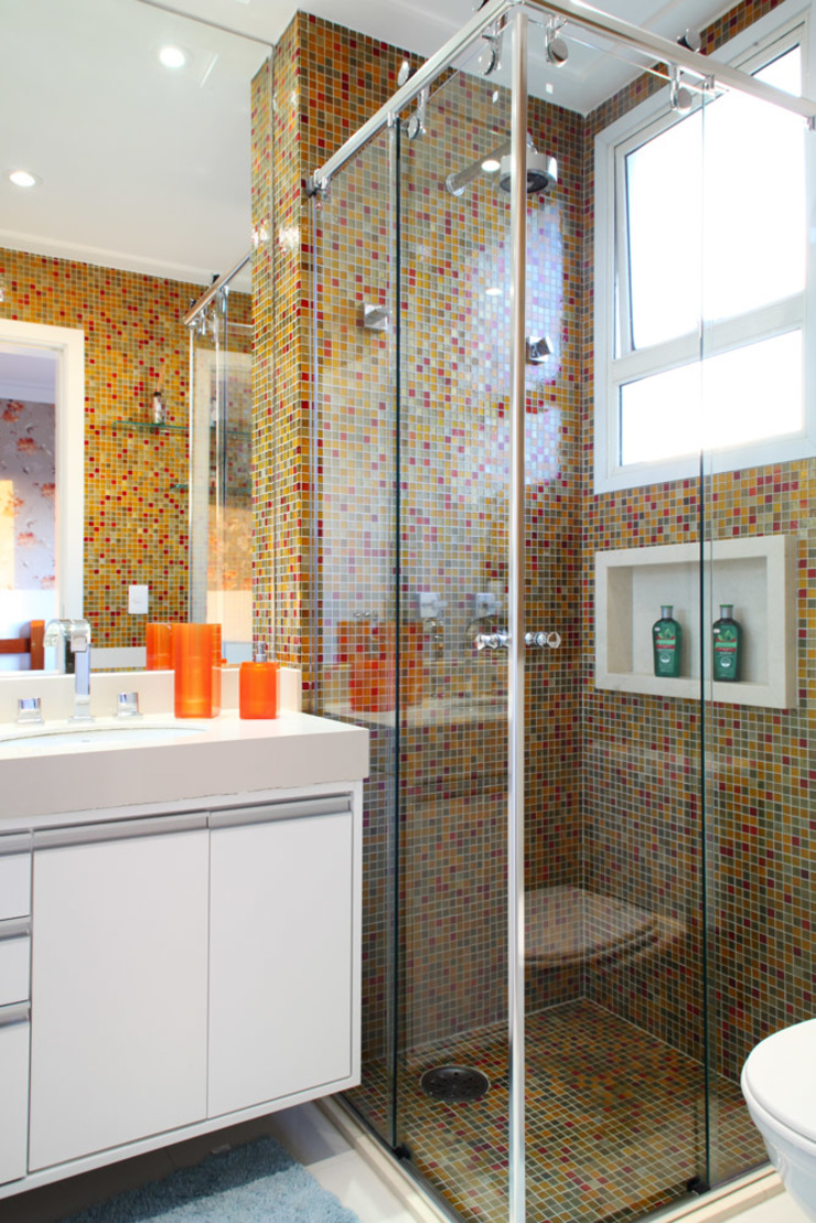 Projeto Modern Bathroom by info9113 Modern