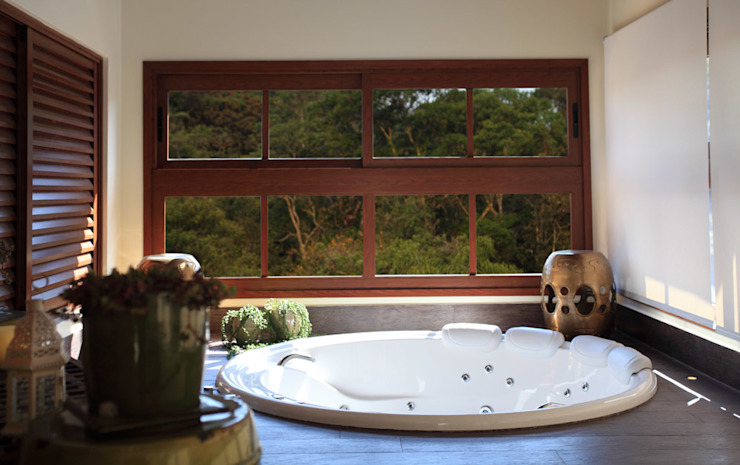 Projeto Salle de bain moderne par info9113 Moderne