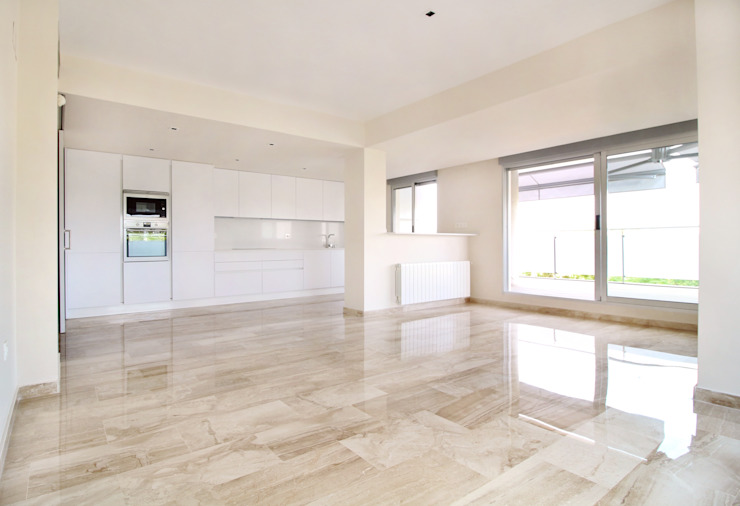 Moderne Wohnzimmer von acertus Modern Marmor
