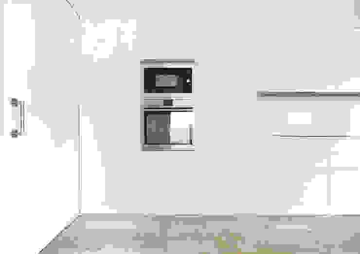 Kitchen Cocinas de estilo minimalista de acertus Minimalista Madera Acabado en madera
