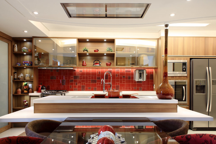 Projeto Salle à manger moderne par info9113 Moderne