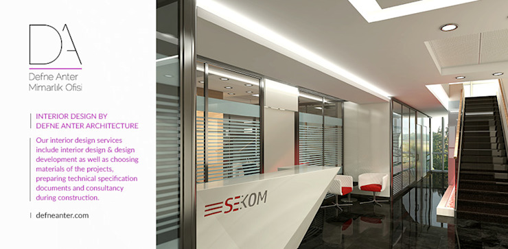 Modern office buildings by Defne Anter Mimarlik Modern