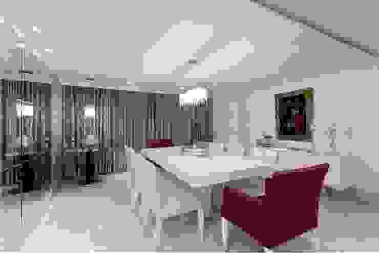 ANUÁRIO DE DECORAÇÃO 2011: Salas de jantar  por MJ Projetos e Consultoria Ltda