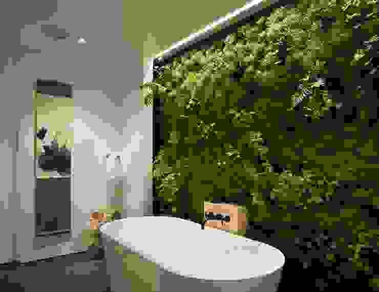 Paredes y pisos de estilo ecléctico de PLANTES ARBRES ET JARDINS Ecléctico