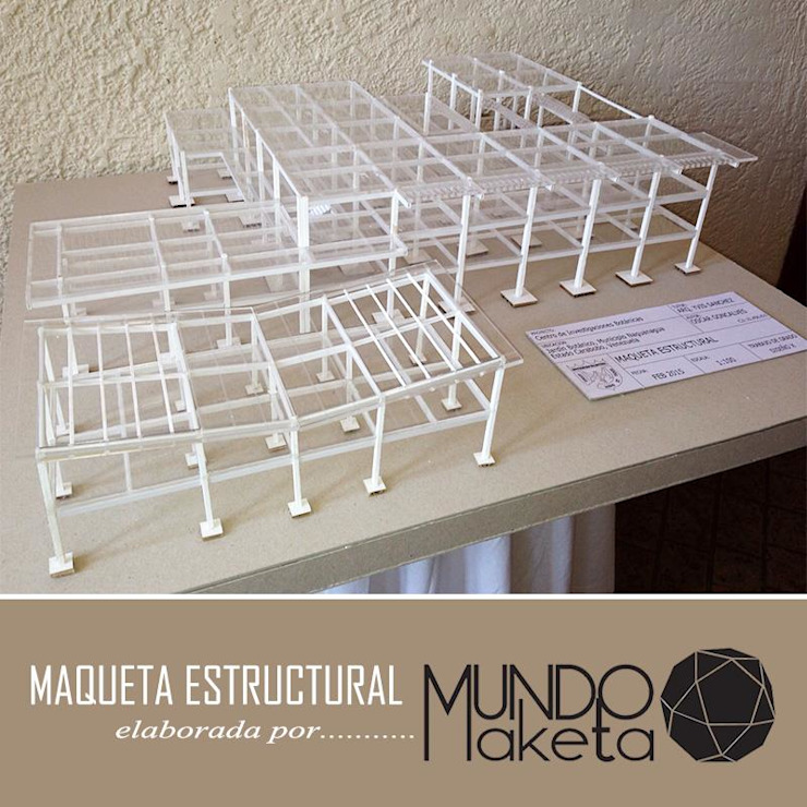 Maquetas de Mundo Maketa Moderno