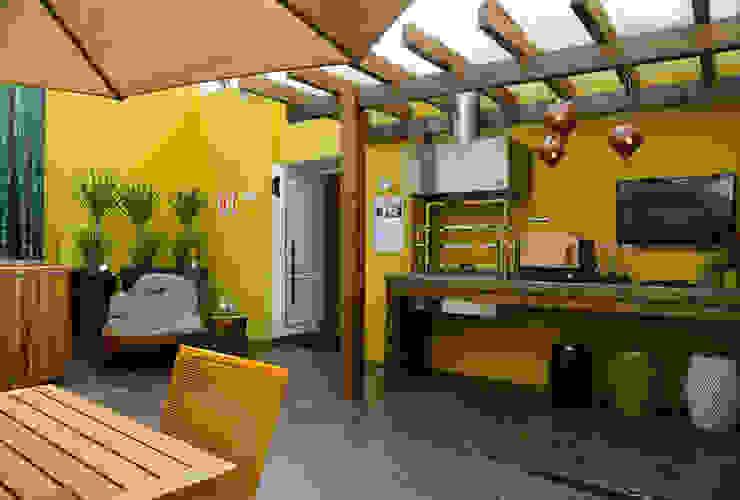 Casa Cor 2013 Meire Lemes Designer de Interiores Varandas, alpendres e terraços modernos