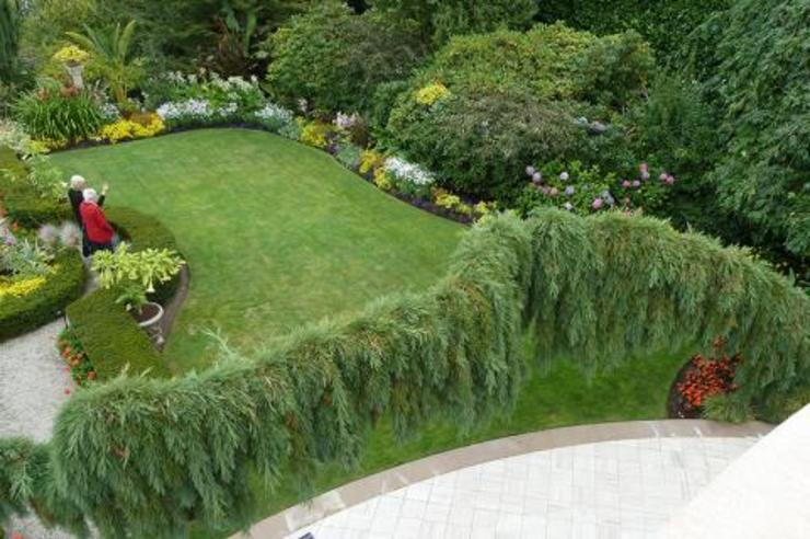 Jardin anglais COUP DE POUSSE SUR GARONNE Jardin rustique