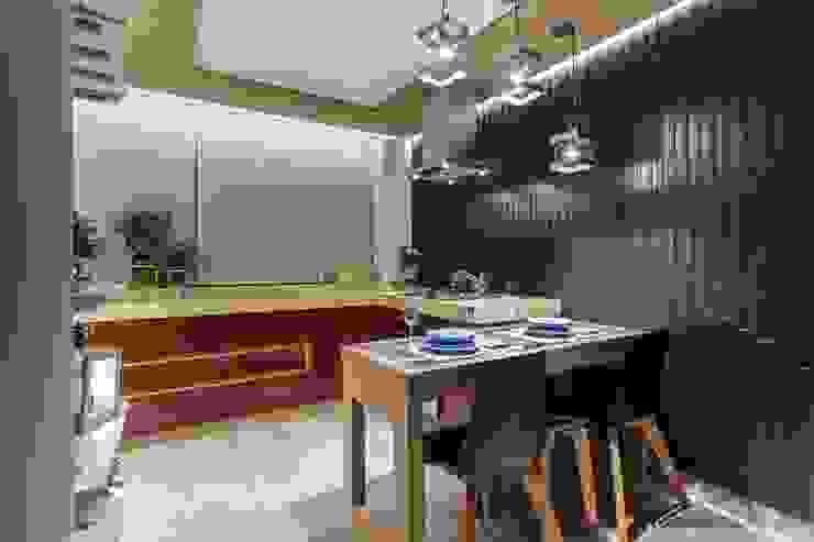 Cocinas de estilo moderno de Caio Prates Arquitetura e Design Moderno Tablero DM