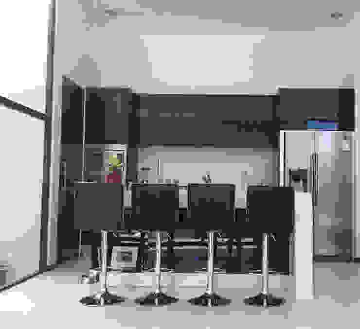 BOSQUES DE BUGAMBILIAS Cocinas modernas de Arki3d Moderno