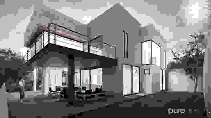 Cañada 28 Casas modernas de Pure Design Moderno