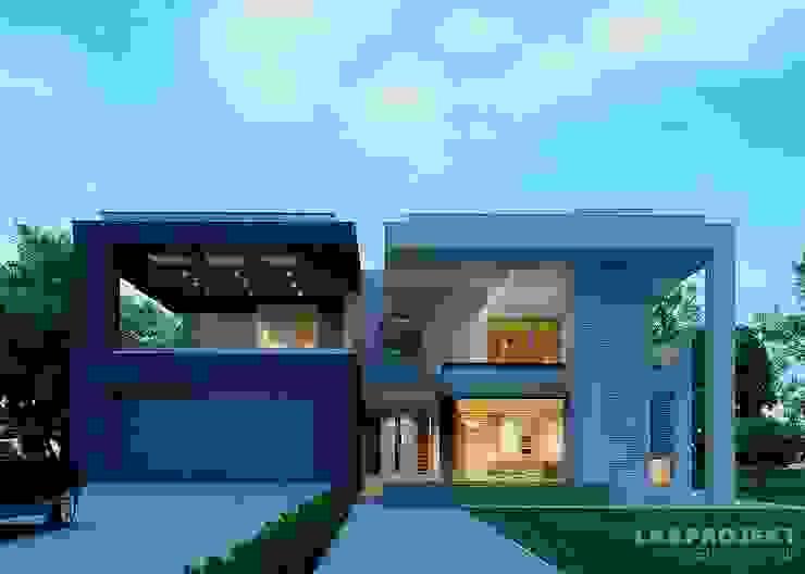 現代房屋設計點子、靈感 & 圖片 根據 LK&Projekt GmbH 現代風