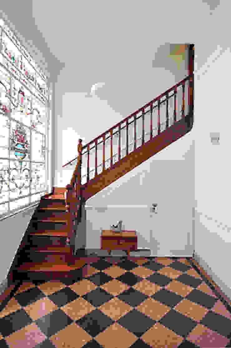Escalera de Matealbino arquitectura